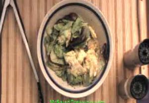 Tomato Garlic Herb Salad Dressing