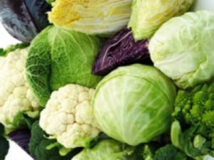 Broccoli Cauliflower and Cabbage