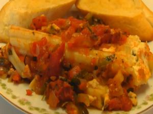 Betty's Stuffed Manicotti with Marinara Sauce