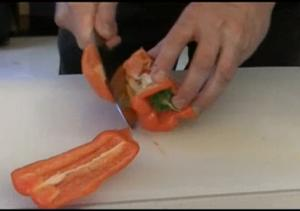 How-to - Prepping Bell Peppers