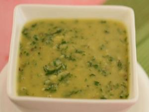 Arhar ki Dal with Spinach by Tarla Dalal