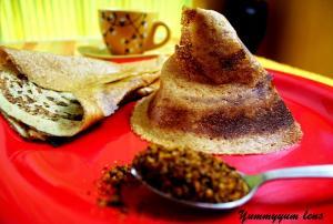 Parippu Dosa (Lentil Dosa Kerala Style)