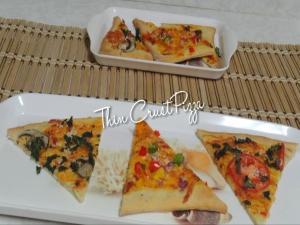 Thin Crust Flat Bread Pizza