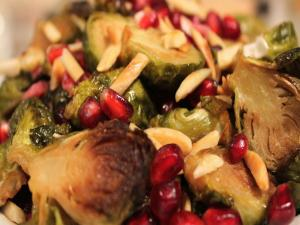 Brussels Sprouts Baked Beautifully