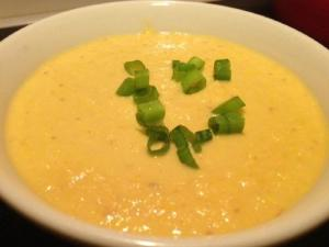 Curried Cream of Corn Soup