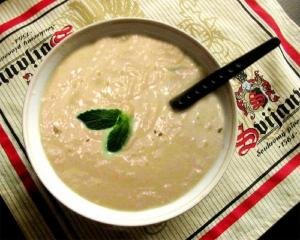 Cream Of Cucumber Soup