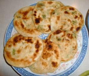 Chinese Spring Onion Pancake