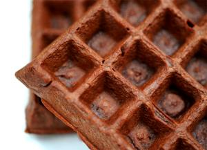 Classic Chocolate Waffles