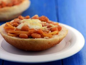 Open Bean Burgers By Tarla Dalal