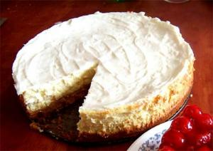 Pear Cheesecake Pie