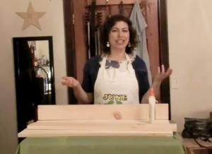 Build your own mailbox with June the Homemaker, Part 1