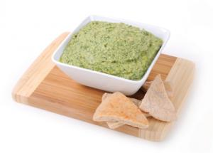 Hummus With Cookin' Greens