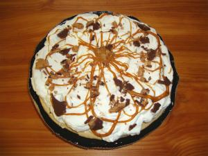 Peanut Butter Mousse Pie Part 2 - Finalization
