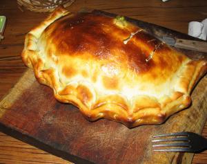 Ham-Filled Calzone