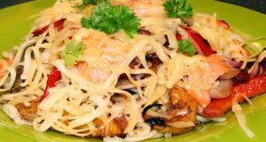 Spring Spaghetti Part 2 – Preparing The Dish