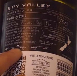 Pleasing The Palate With Spy Valley Marlborough Riesling 2011