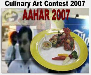 Food Presentation at Aahar 2007