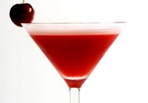 Cherry Gin Fizz