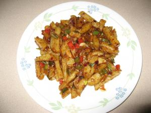 Szechuan Potatoes