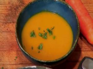 Creamy Carrot Tarragon Soup