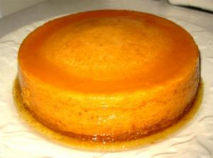 Pumpkin Ginger Flan