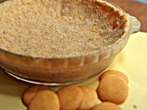 Easy Cookie Pie Crust-- Buh-Bye Premade Graham Cracker Pie Crust