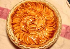 Fresh-Apple Flan