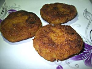 Sweet Banana Cutlets