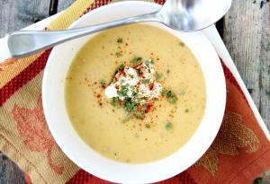 Cold Potato Soup