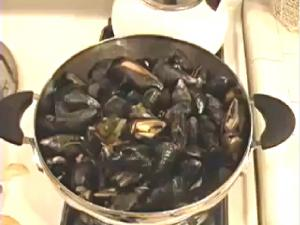 Mussels Provence Style