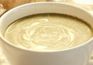 Fresh Spinach, Cream and Nutmeg Soup