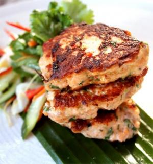 Crab Cocktail Fritters