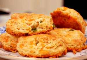 Jalapeno Cheese Biscuits