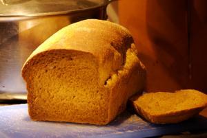 Molasses Cornmeal Bread