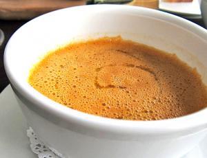 Saffron Flavored Fish Soup