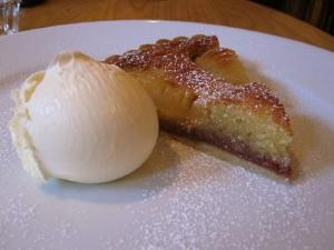 Free Form Pear Tart