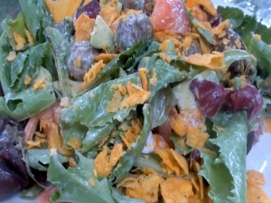 Easy Taco Meatball Salad