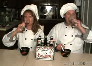 Pizza Beer Cheddar Soup