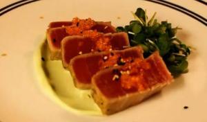 Pan Seared Tuna Steaks