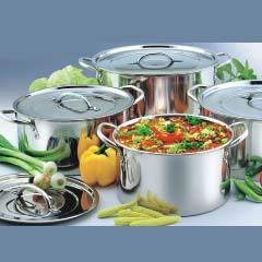 commercial cooking pots