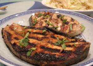 Swordfish Steaks With Middle Eastern Flavors