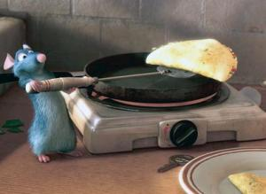 Food is the central theme of this Oscar winning animated film.