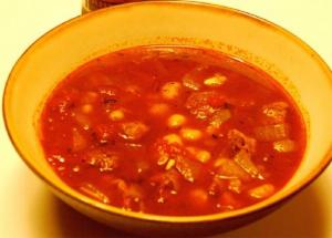 Pork Stew With Hominy And Collard