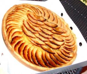 Cream Cheese And Apple Tart