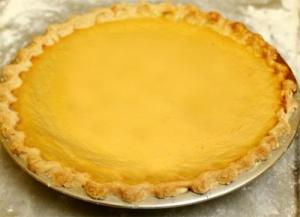 Quick Custard Pie