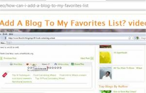 Tips to Add Ifood.Tv Blog to My Favorites List