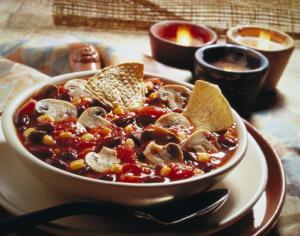 Mushrooms Chilli