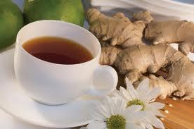 Ginger tea - one of the best natural remedies for bursitis