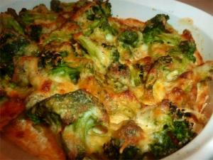 Baked Broccoli Gratin