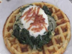 How to Make Waffles Florentine
